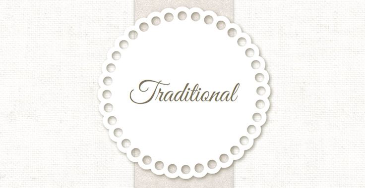 Traditional Wedding Design Template
