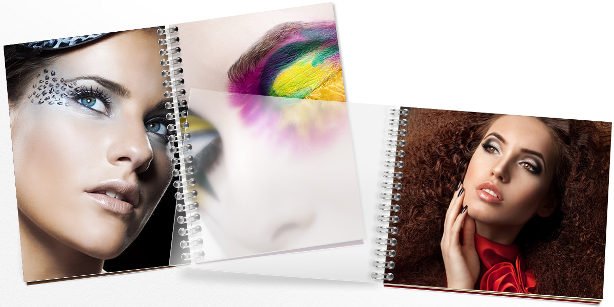 Display your photos in a photo booklet with high-quality 6-color printing