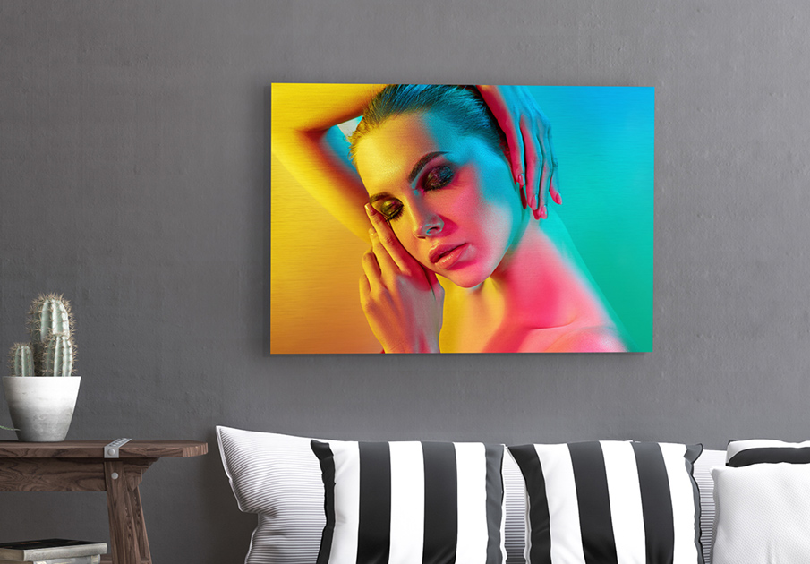 Brushed Metal Print