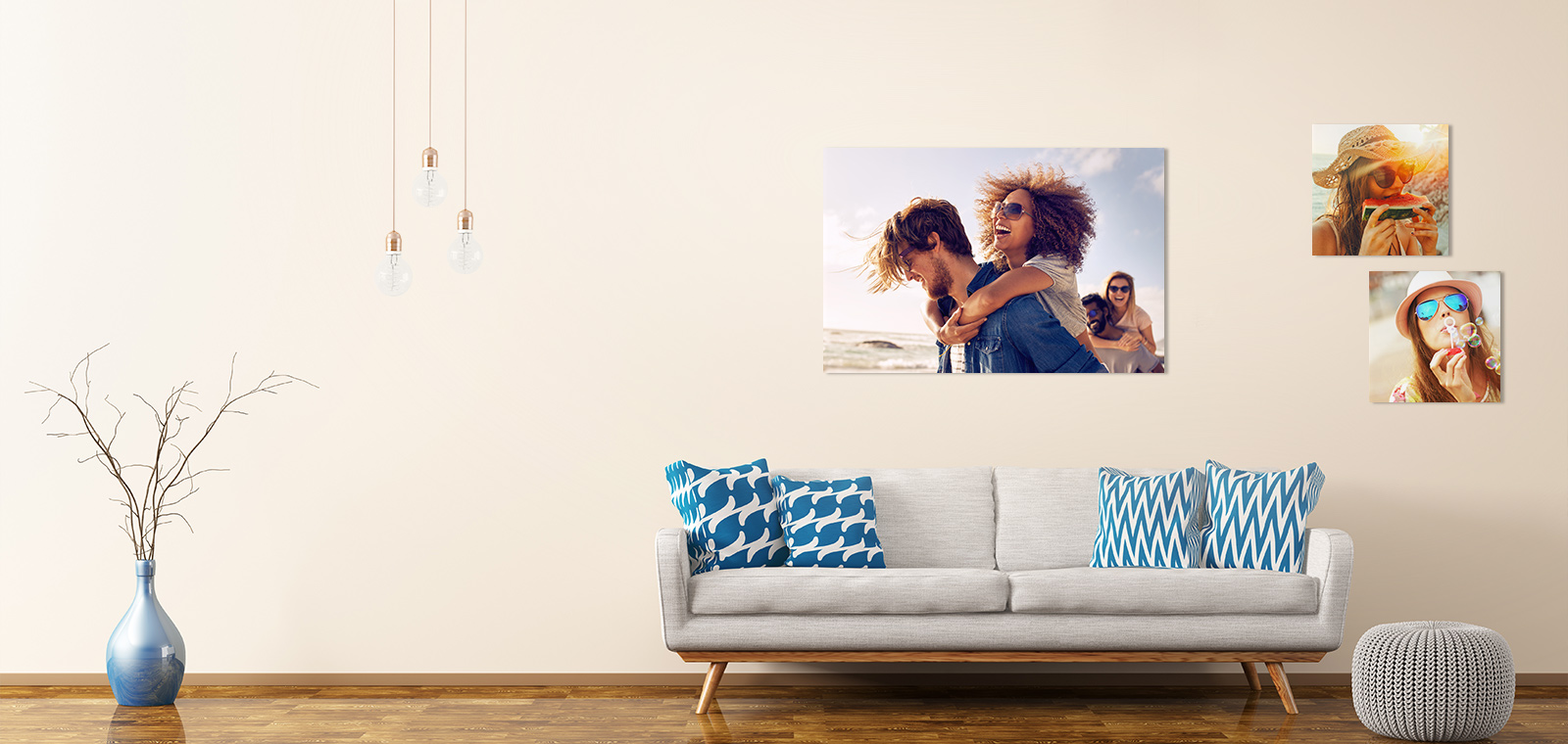 Wall decors – Design your photos into art!