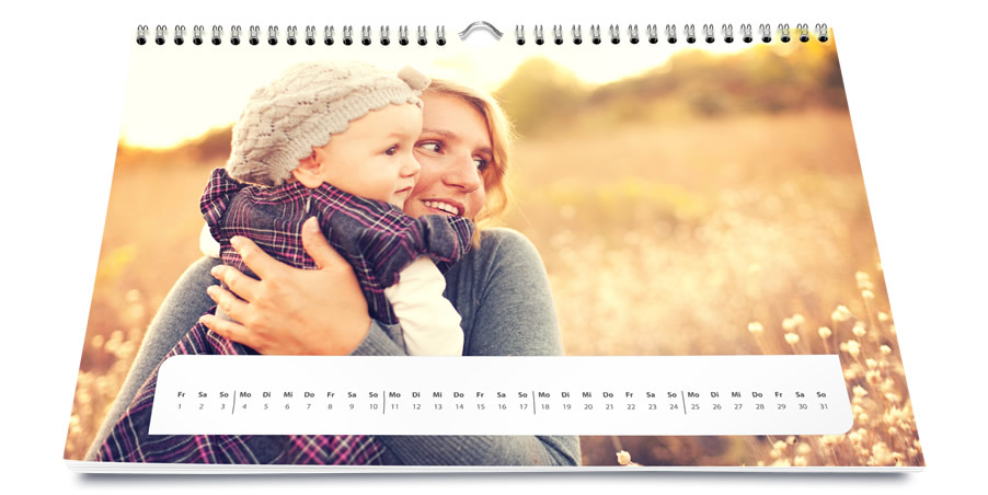 Your Photo Calendar In HighEnd Quality Of Saal Digital